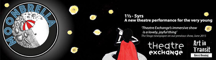 Moonbrella - a new theatre performance for very young